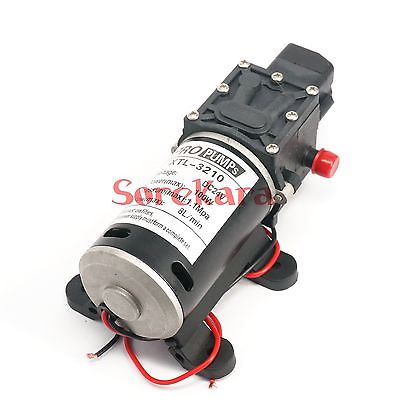 T-YA DC 24V 100W Self-priming Booster Diaphragm Water Pump Automatic Pressure Switch 300L/H For Car washing цена