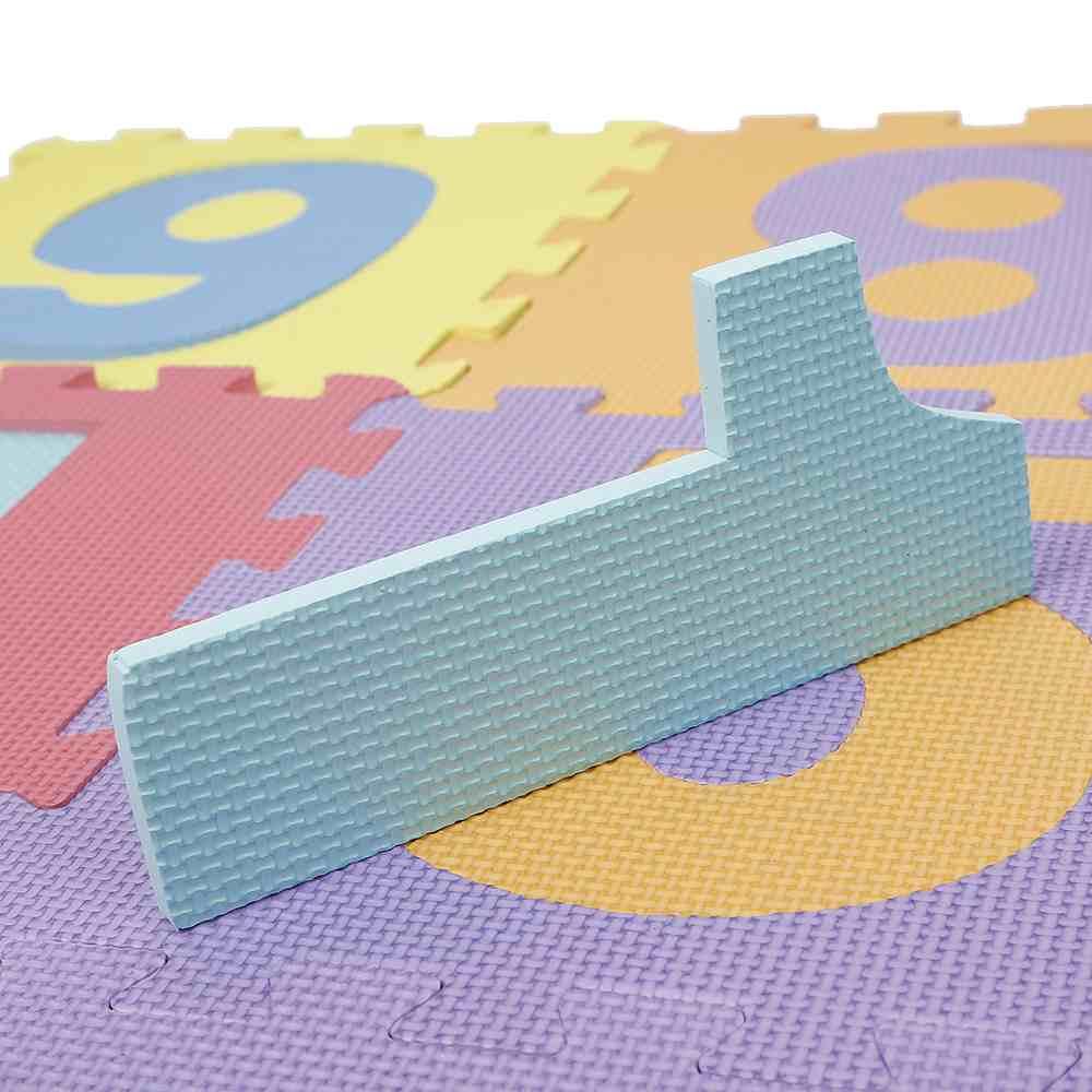 10pcs EVA Foam 0 to 9 Numer Puzzle Play Floor Mats Kid Supplies Hot Sale