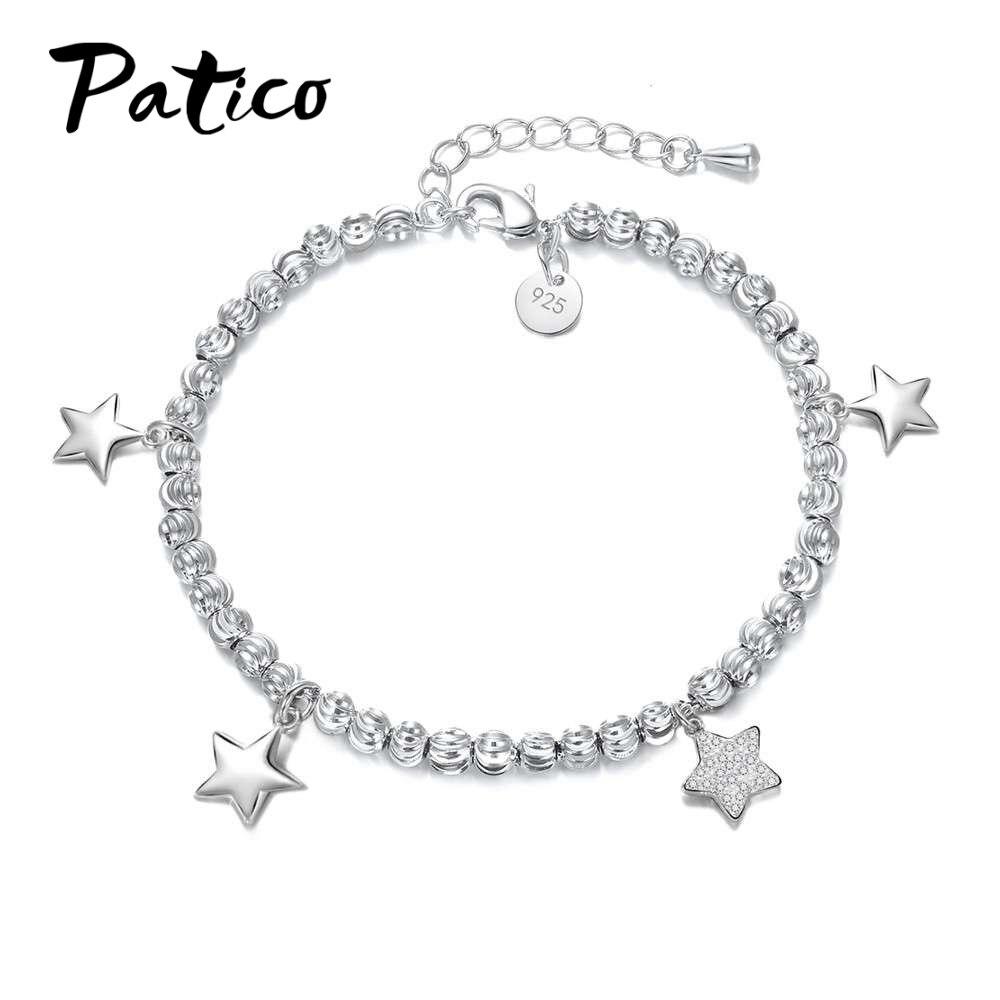 Patico New Attractive Star Pendant Women Fashion Bracelets