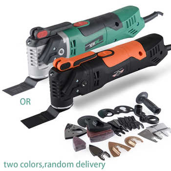 NEWONE 220V Quick Release Variable Speed Electric Multifunction Oscillating Tool Kit Multi-Tool Power Tool Electric Trimmer - DISCOUNT ITEM  30% OFF All Category