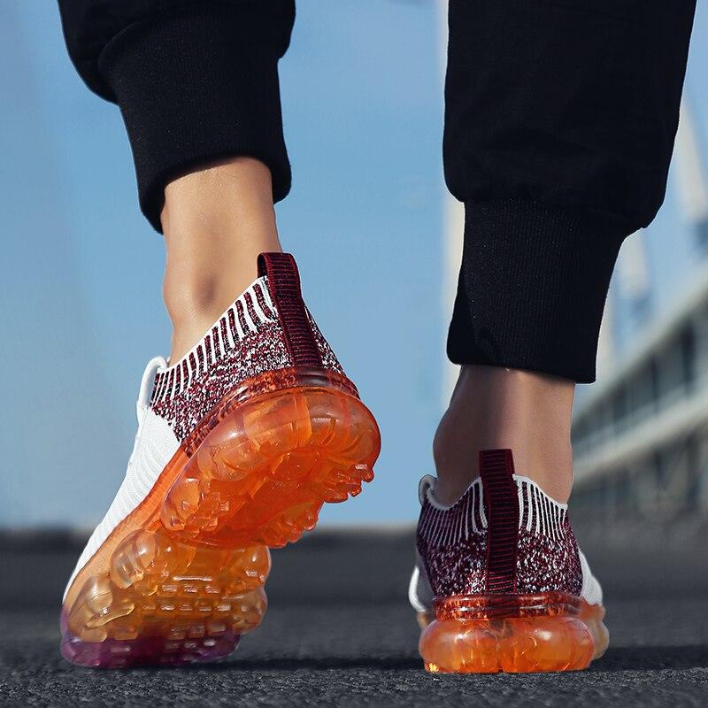 Socks shoes men's low help shoes summer breathable men's sports mesh shoes men's Korean version of the trend casual shoes men цена