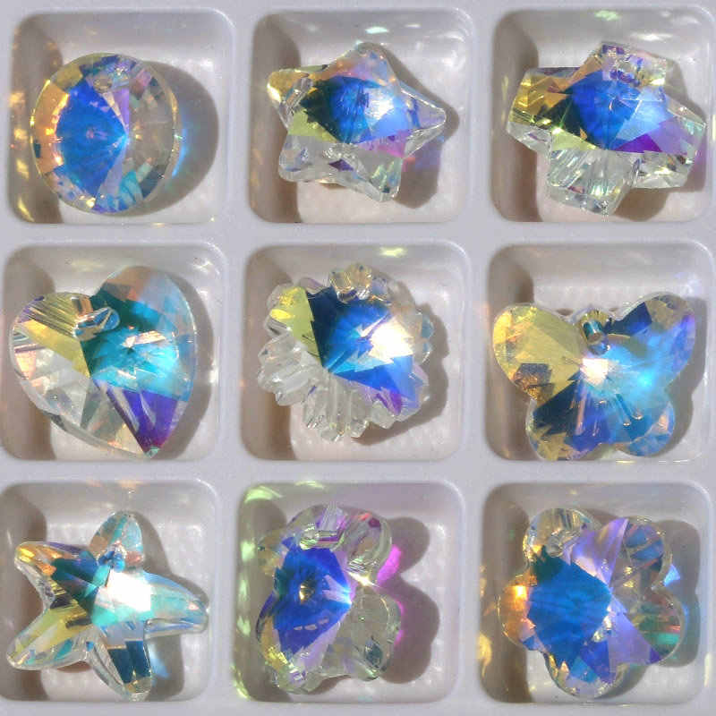 0d79ba6ec Best quality 14mm 28pcs/pack charms crystal beads crystal AB glass beads  pendant gems for