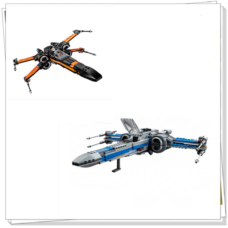 H HXY In Stock 740PCS NEW 05029 05004 Rebel X wing fighter KIDS font b TOY