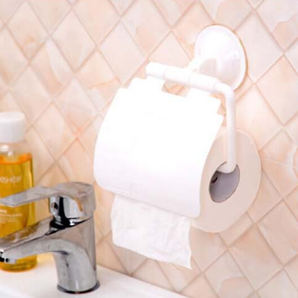 4 Colors Wall Mounted plastic Bathroom Toilet Paper Holder With ...