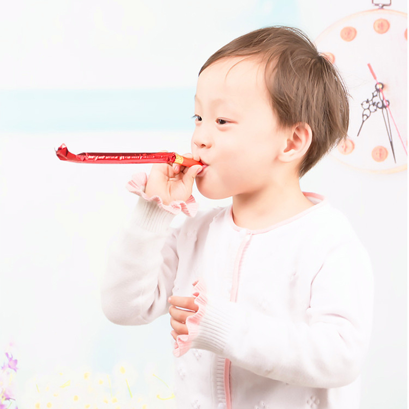 10 шт./компл. вечерние игрушки Смешные свистки Дети День рождения выдувание свисток-язычок игрушки для детей