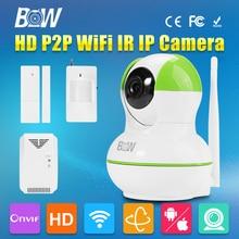 BW ONVIF CCTV IP font b Camera b font WiFi 720P Video Surveillance Security font b