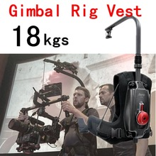 Like EASYRIG 8-18kg Video and Film Camera or DJI Ronin 3 Axis Dslr Gimbal Rig Stabilizer Stabilization Easy Rig Steadicam Vest цена