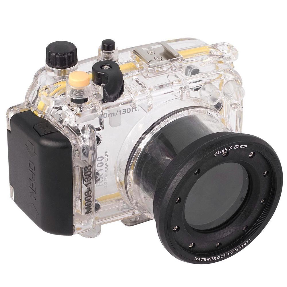 For Sony RX100 RX100 I MI M1 DSC-RX100 RX100 Mark I 40m 130ft Waterproof Underwater Housing camera Case Cover BagFor Sony RX100 RX100 I MI M1 DSC-RX100 RX100 Mark I 40m 130ft Waterproof Underwater Housing camera Case Cover Bag