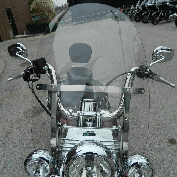 Мотоцикл съемный лобовое стекло ветровое стекло для Harley-Davidson Touring Road King Classic FLHR flhrci 1993-2018 99