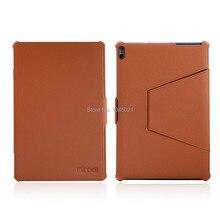 """2016 nuevo ordenador portátil case para lenovo a7600 tablet soporte folio Pu Funda de piel Para Lenovo Tab A10-70 A7600 10 """"10.1"""" pulgadas Tablet"""