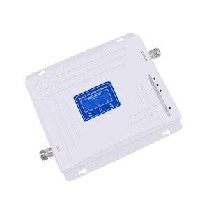 Image 2 - 트라이 밴드 2g 3g 4g 신호 부스터 900 1800 2100 MHz GSM WCDMA UMTS LTE 리피터 Triband 900/1800/2100 앰프 + 로그/패널 안테나