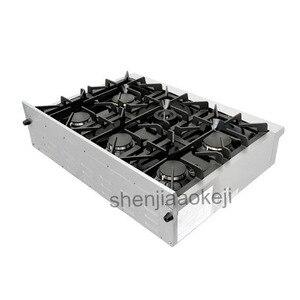 Appareil de cuisine en acier inoxydable cuisinière à gaz cuisinière à gaz domestique 120V60Hz 1 PC 36 pouces cuisinière à gaz intégrée
