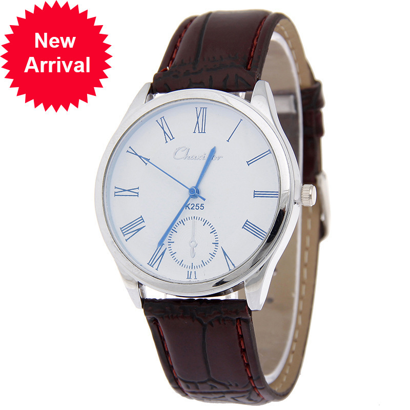 online get cheap watch men of honor aliexpress com alibaba group fashion lexury genuine leather honorable blue needle business affairs leisure time wrist watch man