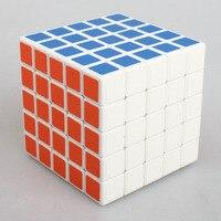 Classico Giocattolo Cubo 5x5x5 PVC Adesivo Blocco di Puzzle Cubo di Velocità Cubo Colorato Learning Educativi Giocattoli Di Natale regalo
