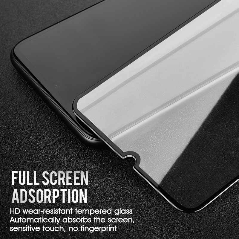 3 قطعة/الوحدة كامل غطاء الزجاج المقسى فيلم ل سامسونج A70 A50 A30 A10 A20 A40 A60 A70 A80 A90 M40 M30 M20 M10 شاشة حامي HD