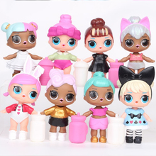 8pcs set LOL SURPRISE Series 2 DOLL Baby Doll 8 9cm Surprise Doll Action font b