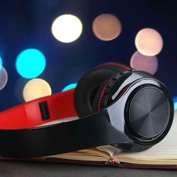 5,0 bluetooth-наушники, проводные беспроводные наушники, складная стереогарнитура Bluetooth с микрофоном, поддержка tf-карты