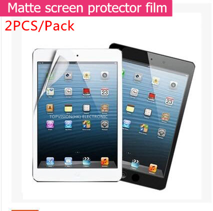 2PC/ Pack Good front matte protective film for 2018 2017 ipad air 1 2 pro 9.7 screen protector anti glare guard check online nillkin protective matte pet screen guard film for nokia lumia 1520 transparent