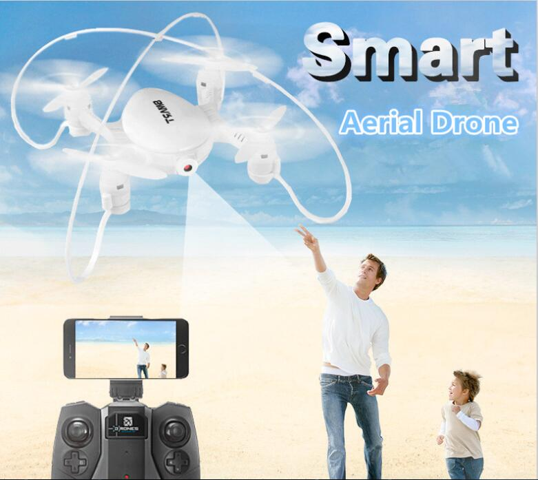 New Dual control RC drone FY 603 2 4G 4CH Wifi fpv Real Time Transmit With