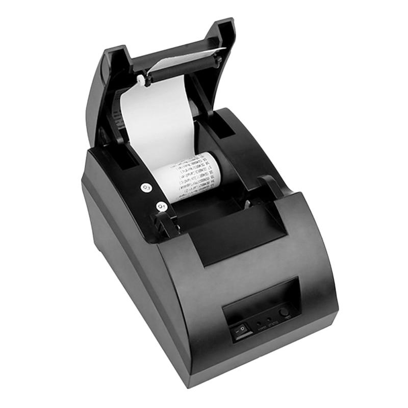 Новые мини 58 мм Термальность получение билетов ККМ 5890C принтер этикеток USB Порты и разъёмы Интерфейс pos-принтера