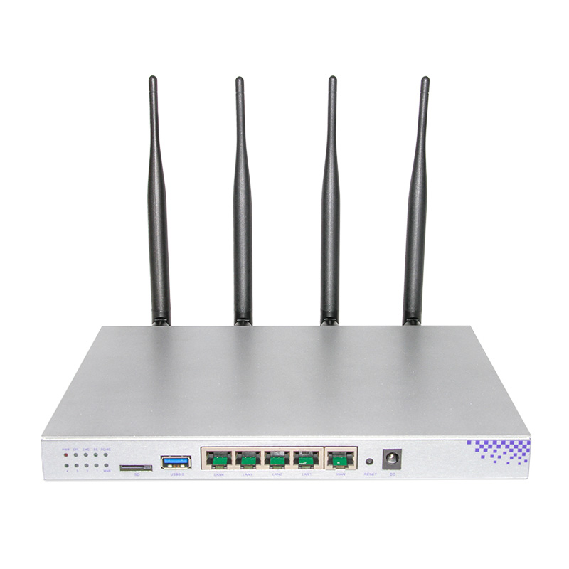 MT7621A 1200Mbps 2 4GHz 5 0GHZ dual band 802 11AC Gigabit OpenWrt WiFi Wireless Router built