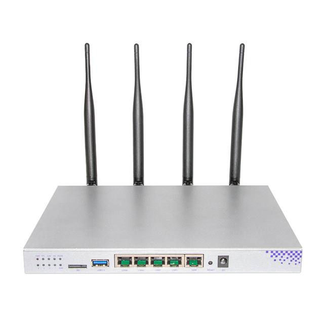 MT7621A 1200Mbps 2.4GHz 5.0GHZ dual-band 802.11AC Gigabit OpenWrt WiFi Wireless Router built-in PCI-E Slot Support 3G/4G/ module