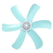 Синий 6 листовые пластинки 16 см Небольшой Мини Электрический Вентилятор Потолочный Вентилятор Энергосбережение США Plug 220 В 7 Вт