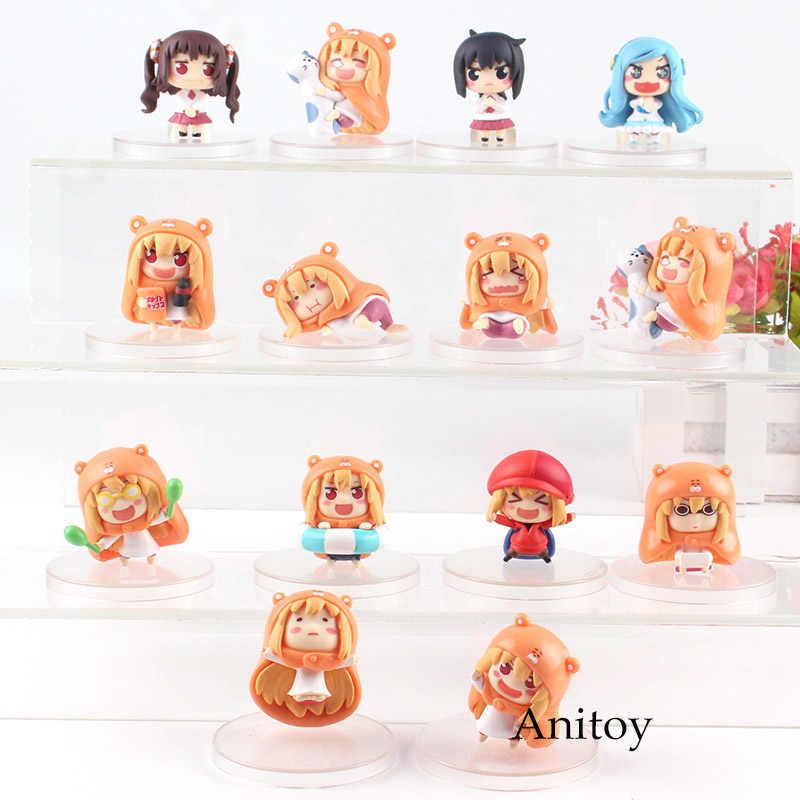 Anime Himouto Umaru-chan Umaru Doma Nana Ebina Motoba Kirie Tachibana  Sylphynford PVC Himouto Umaru Chan Figure Action Cute Toys