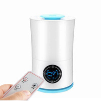 Aroma Essential Oil Diffuser Ultrasonic Cool 2 5L Mist Humidifier LED Night Light For Office Home