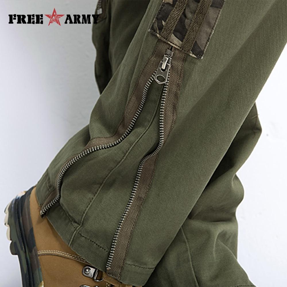 Marka Plus veličina Unisex Cargo hlače Casual Hlače Jogger - Muška odjeća - Foto 6