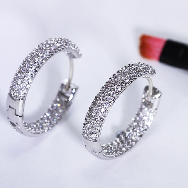 for online hoop platinum interesting fashion jewelry and earrings jewellery item plated women shopping oorbellen nice earings india