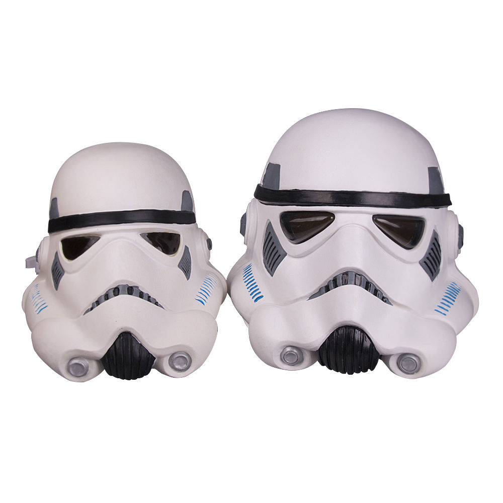 Free Shipping Star Wars Stormtrooper Latex Full Face Mask Helmet for Kids Adult Age Halloween Party Mask