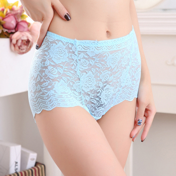 Women Panties No trace Soft Lace Intimates Underwear Triangle Big Yards Female Briefs Large Size for 70-80kg Girls women's panties