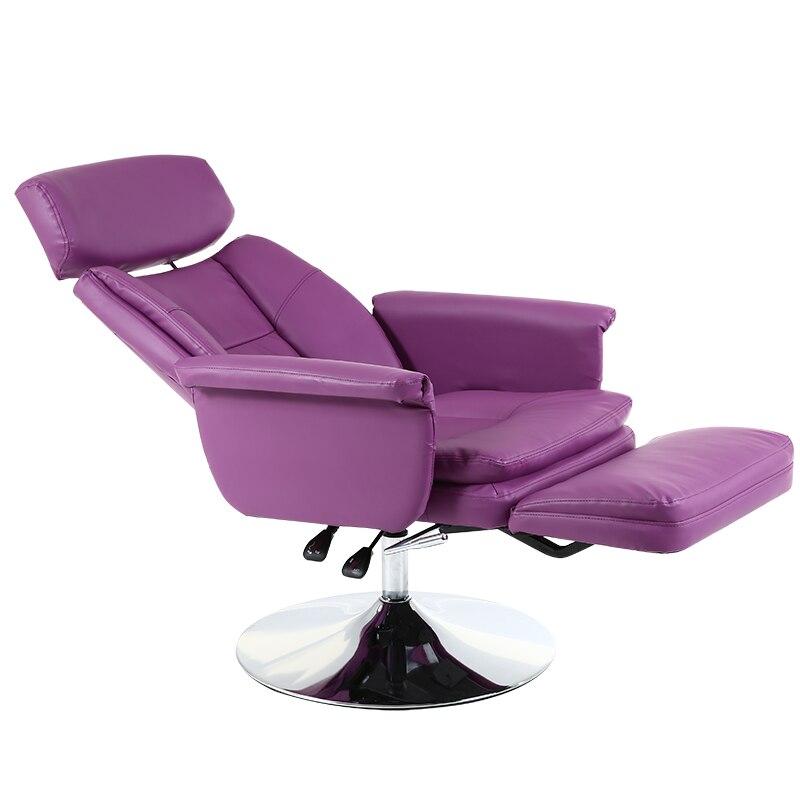 Multi-function Hairdressing Chair Lifted Rotated Makeup/tattoo/manicure Chair Reclining Salon Furniture Disc Feet Nail Art Chair mattress