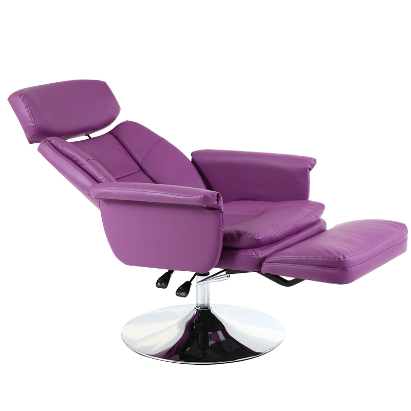 Multi function Hairdressing Chair Lifted Rotated Makeup/tattoo/manicure Chair Reclining Salon Furniture Disc Feet Nail Art Chair-in Barber Chairs from Furniture