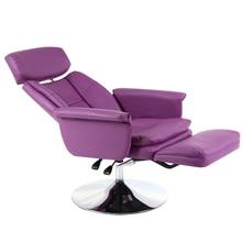 Çok fonksiyonlu kuaför sandalyesi kaldırma döndürülmüş makyaj/dövme/manikür sandalyesi uzanmış Salon mobilya disk ayak tırnak sanat sandalye