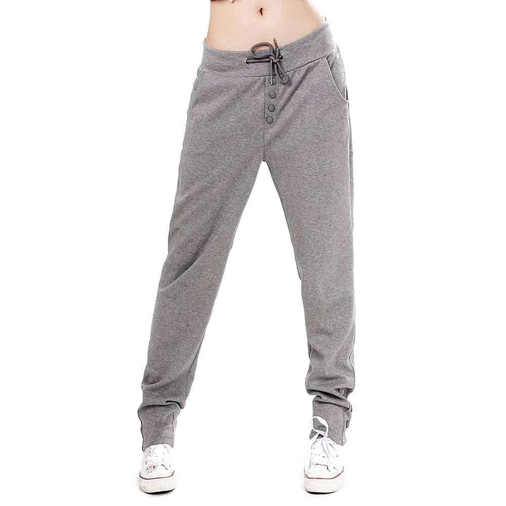 Lastest Adult Kids Women Sweatpants Costume Wear Big Crotch Bronze Pencil Pants Gold Silver Trousers Hip ...