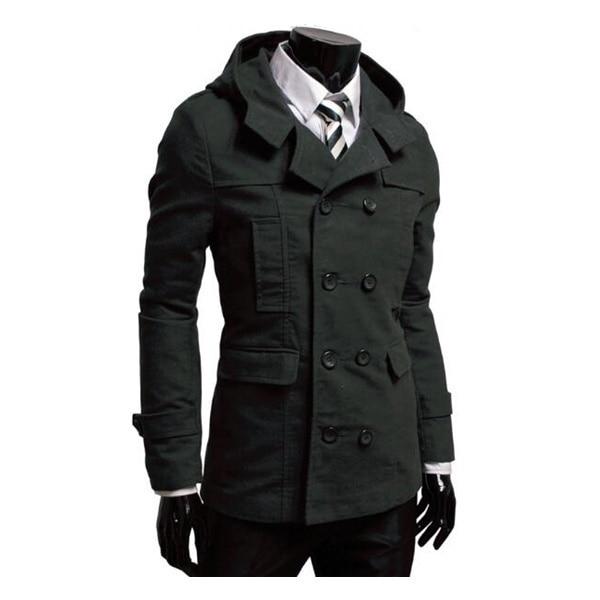 2c70edc59 Mens Trench Coat New Fashion Design Men Windbreaker Coat Autumn ...