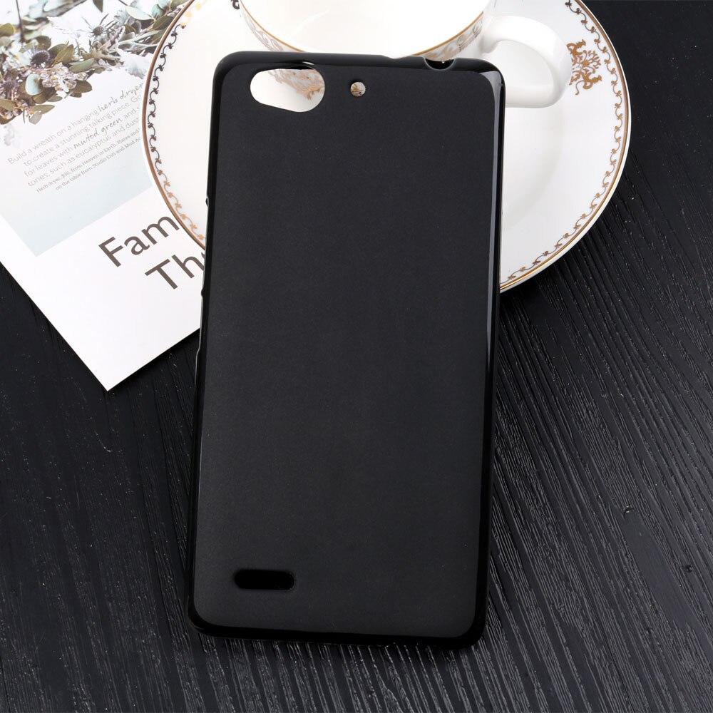 1 Pc/lot Silikon Case untuk ZTE Nubia Z7 Maksimum Warna Tidak Mengkilap Puding Case Lembut TPU Case untuk ZTE Nubia Z7 Maksimum pelindung Sampul Belakang 5.5 Cm Hitam-Internasional