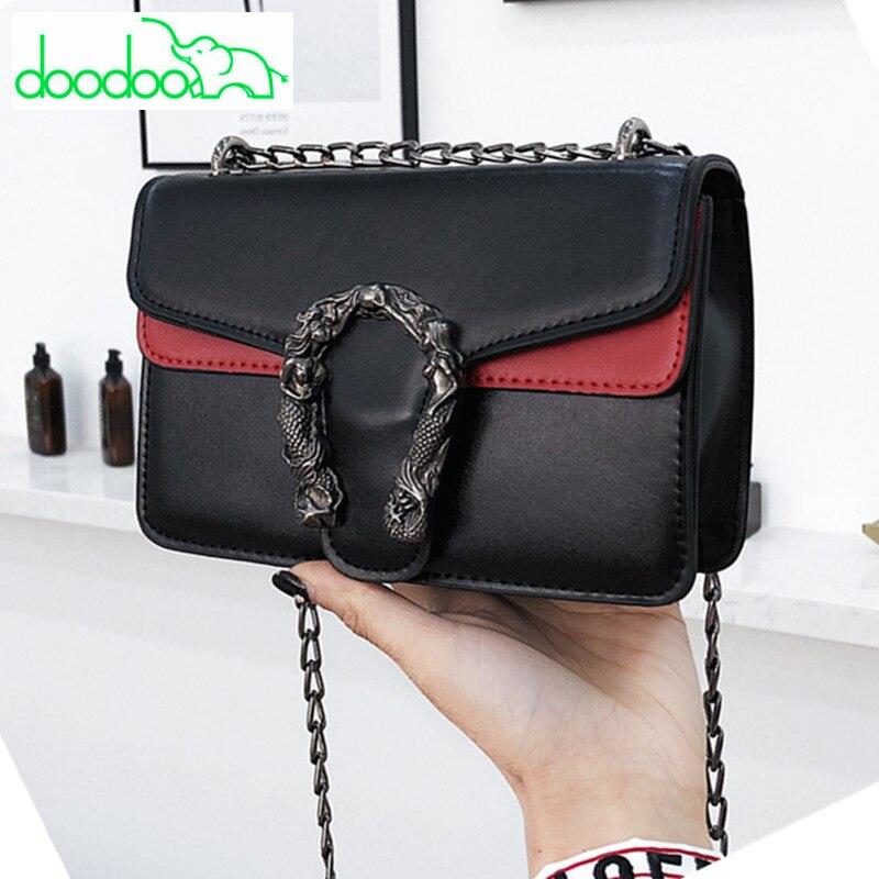 Fashion Brand Designer Women Messenger Bags Leather Chain Handbag Clutch High Quality Hit Color Shoulder Crossbody Bags Vs Pink