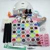 2017 New Pro 24W UV GEL White Lamp 36 Color UV Gel Nail Art Tools Polish
