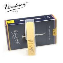 Коробка 10 Франция Vandoren традиционные Bb кларнет Тростников/Reed для кларнета сила 2,0 #2,5 #3,0 #3,5 #