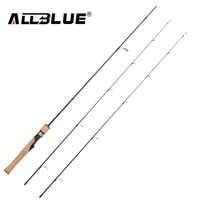 ALLBLUE Vichingo Filatura Rod UL/L 2 Tips 1.68 m Ultralight 1/32-1/4 oz 2-8LB di Carbonio canna Da Pesca morbido pesca peche Attrezzatura Da Pesca