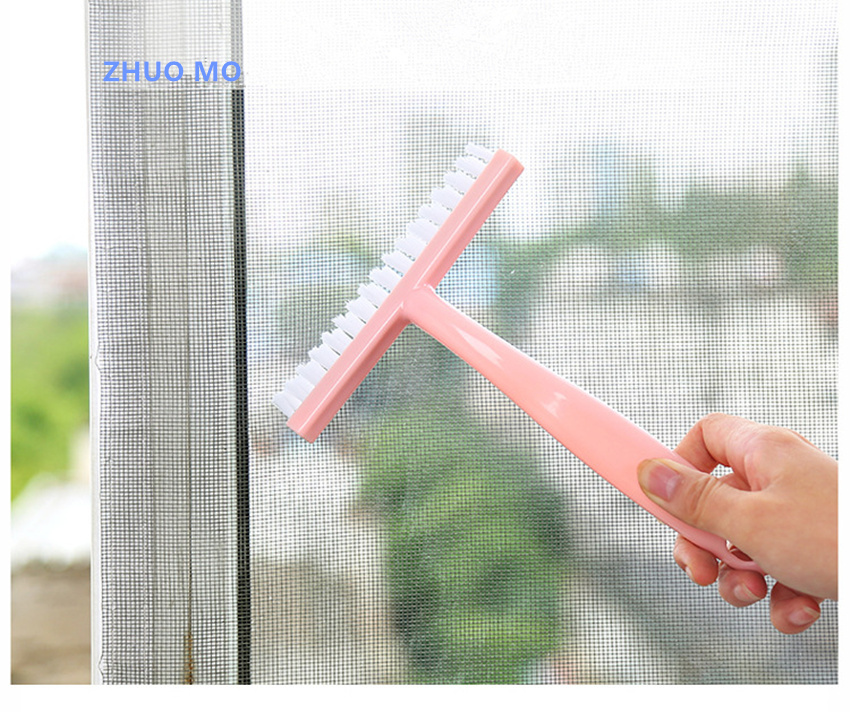 Multi-function Window mosquito net groove cleaning brush Clearance of window slit Tools Kitchen Bathroom Household cleaning tool