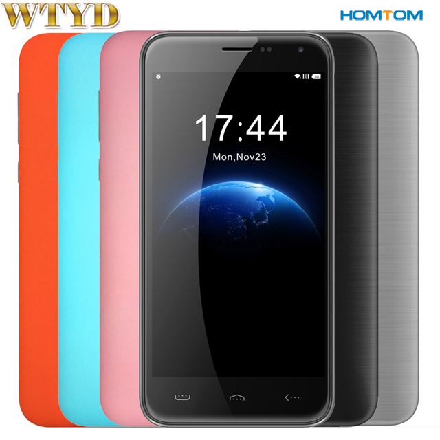 Original Unlocked Smartphone HOMTOM HT3 RAM 1GB ROM 8GB Android 5.1 5.0inch MTK6580A Quad Core up to 1.3GHz 3G Network 3000mAh