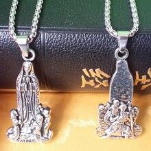 Кафедральный собор четки оптом по низкой цене Господа, христианское ожерелье Иисус, Дева Мария крест религиозные украшения Костюмы аксессуары Иисуса 55*26*5 мм