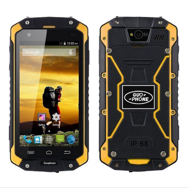 Оригинальный Guophone V9 водонепроницаемый смартфон с IP68 MTK6580 4 ядра Android 5,1 4,5 ips Оперативная память 1 ГБ Встроенная память 8 ГБ 3G WCDMA 8MP мобильного т...