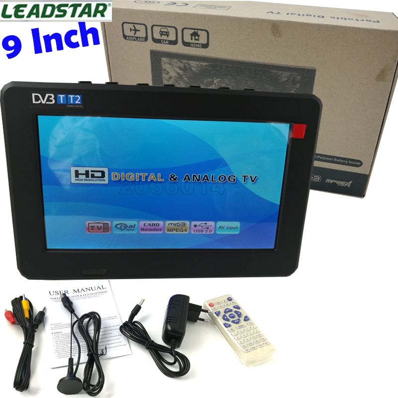 2017 New HDTV 9 Inch Digital Television And Analog s