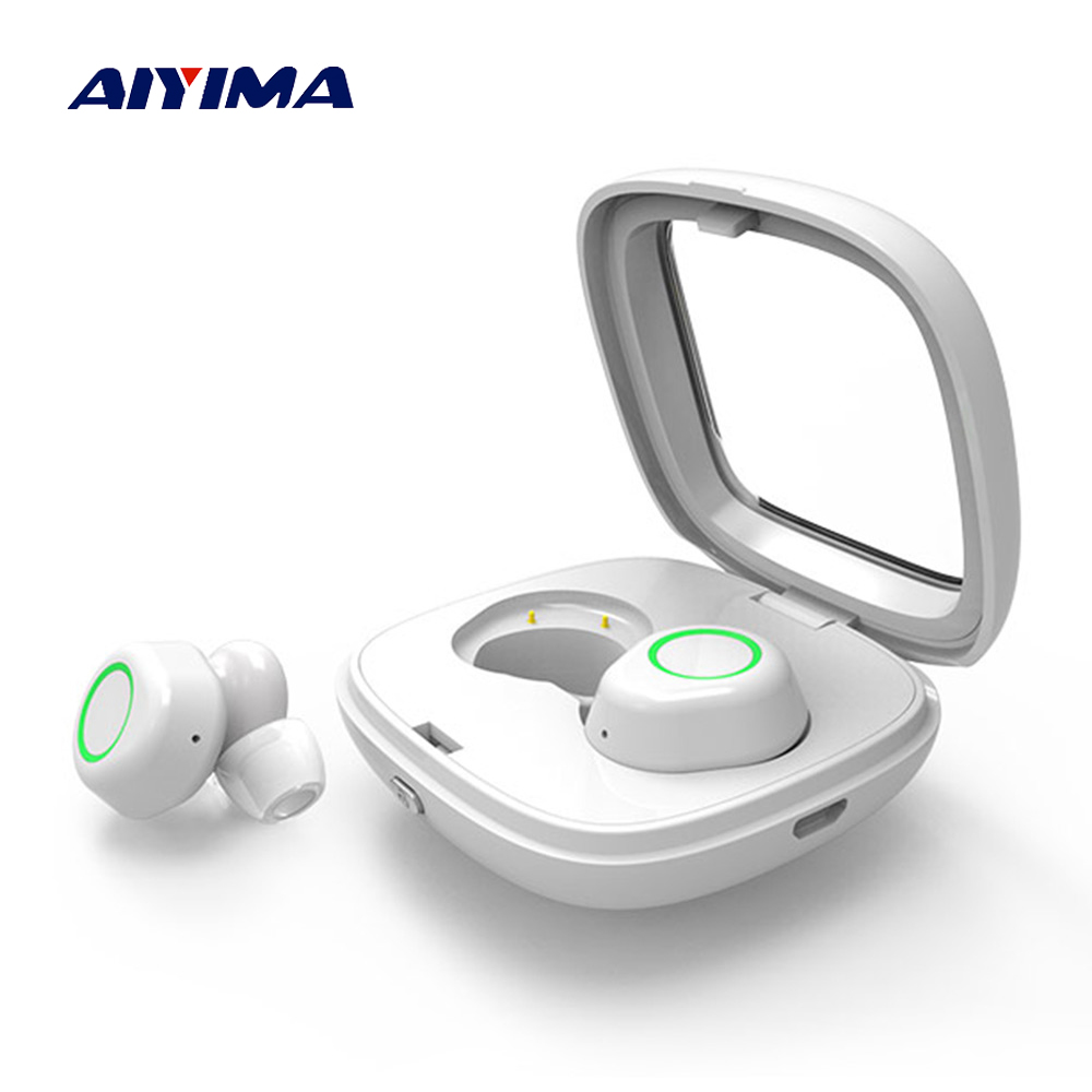 цена на AIYIMA TWS Audifonos Fone Bluetooth Wireless Earphones Earbuds Waterproof Handsfree Headphone Ear Phones Fone De Ouvido Sem Fio