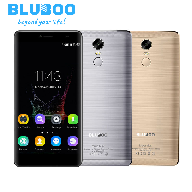 Bluboo Maya Max MT6750 Quad Core Mobile Phones 6 0 Inch RAM 3G ROM 32G Android